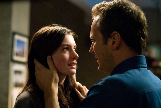 Anne Hathaway and Patrick Wilson in TriStar Pictures' and Mandate Pictures' thriller PASSENGERS.