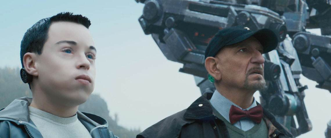Ben-Kingsley-and-Craig-Garner-in-Robot-Overlords